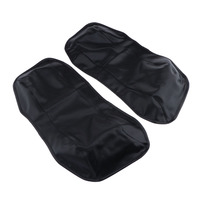 2PCS Saddlebag Pouch Lid Cover Casing fit for Harley Touring Glide 1996 2013