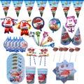 С рисунками героев из мультфильма «Супер Крылья», тематическая вечеринка на день рождения пользу для детей свадебные декоративные тарелки ...