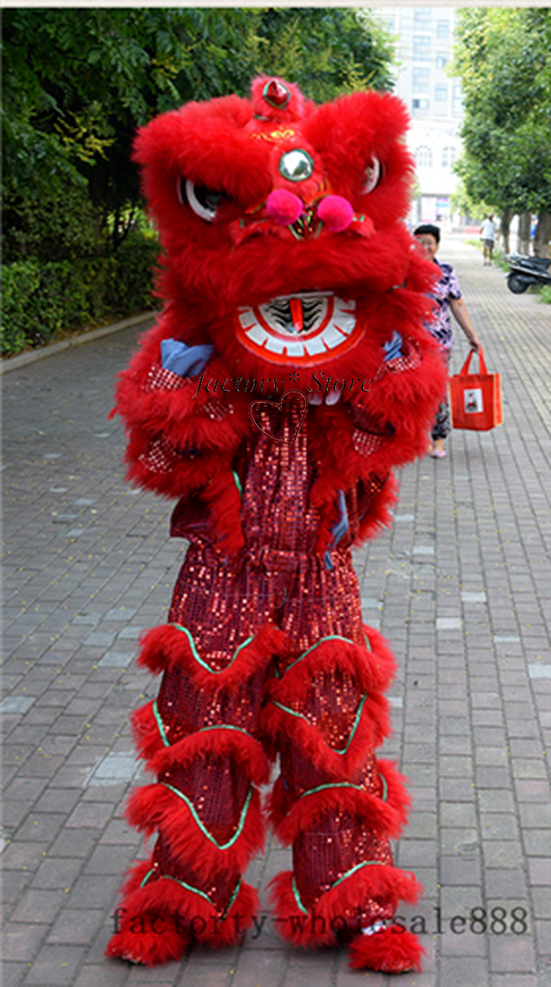 Ultimate SaleCostume Dance-Mascot Lion Halloween Carnival for One-Person Advertising Christmas-Easter