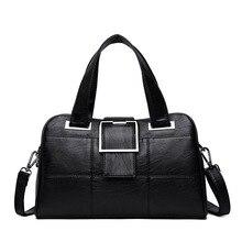 Сумка женская высшего качества  натуральная кожа  2020  брендовая сумка  через плечо для женщин Pommax  модная кожанная магкая женская сумка