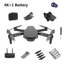E99 Pro2 RC מיני Drone 4K 1080P 720P מצלמה כפולה WIFI FPV צילומי אוויר מסוק מתקפל Quadcopter dron צעצועים
