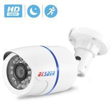 BESDER 1080/720p Full HD IP kamera Bullet açık su geçirmez güvenlik kamera ONVIF XMEye 20m gece görüş hareket algılama RTSP P2P