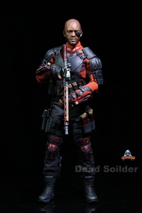 Image 1 - Art figures Dead Soldier Deadshot 1/6 Acton Figure AF 021