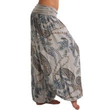 Harem-Pants Pocket-Trousers-Band-Width Sport-Wear Loose Yoga A20 S-5XL Casual-Printed