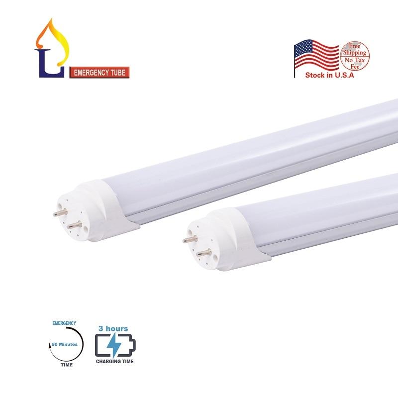 4ft G13 T8 led tube light 25-pack single end power 6000k LED Shop Lighting