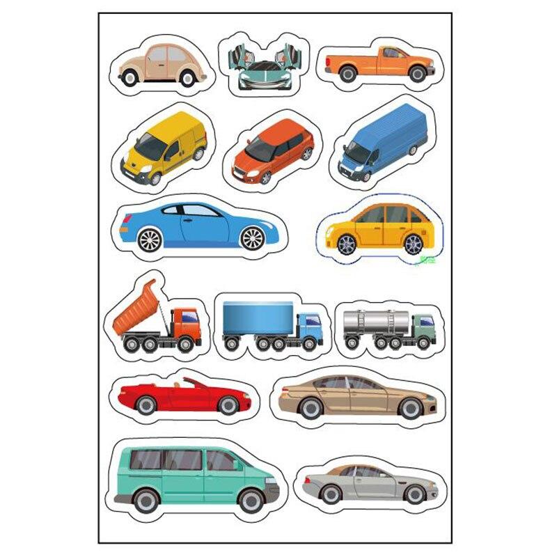 4 Sheet Traffic Tape Washi Tape Sticker DIY Road Traffic Road Adhesive Masking Tape Car Stickers