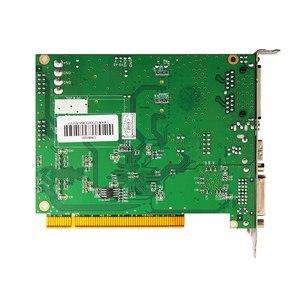 Image 3 - Linsn DS802d synchroniczna karta wysyłająca led kontroler wideo działa z rv908m32 karta odbiorcza do kontrolera ściana wideo led