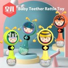 Música do bebê chocalho mordedor brinquedo para a criança 0-12 educação berço móvel crianças cama sino recém-nascido carrinho de criança infantil chupeta