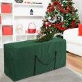 Сумка для хранения рождественской елки, пылезащитный чехол, водонепроницаемый вместительный чехол для хранения одеял, одежды, складов, сум...