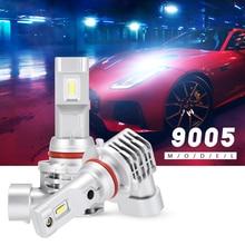 9005 HB3 / P20d Led Car Headlight 6000K 50W 8000LM 9V-32V LED Fog Lights Blubs Headlight Bulb Mini Design 1 : 1 Waterproof D40 лампа автомобильная osram hb3 9005 60 p20d fog breaker 2600k 12v 9005fbrhcb 2 шт