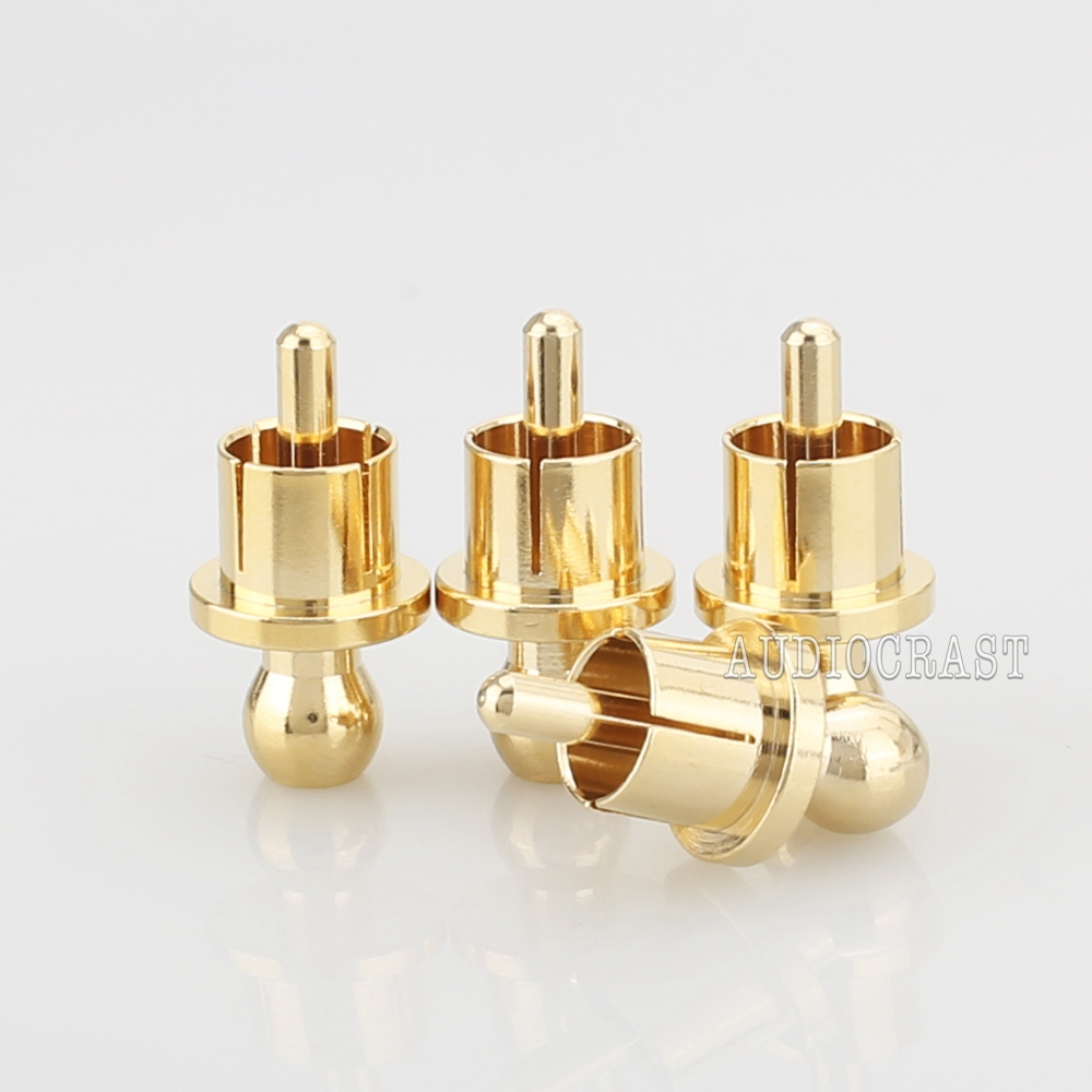 Защитная крышка RCA Пылезащитная позолоченная шумовая пробка защитные колпаки 8/шт