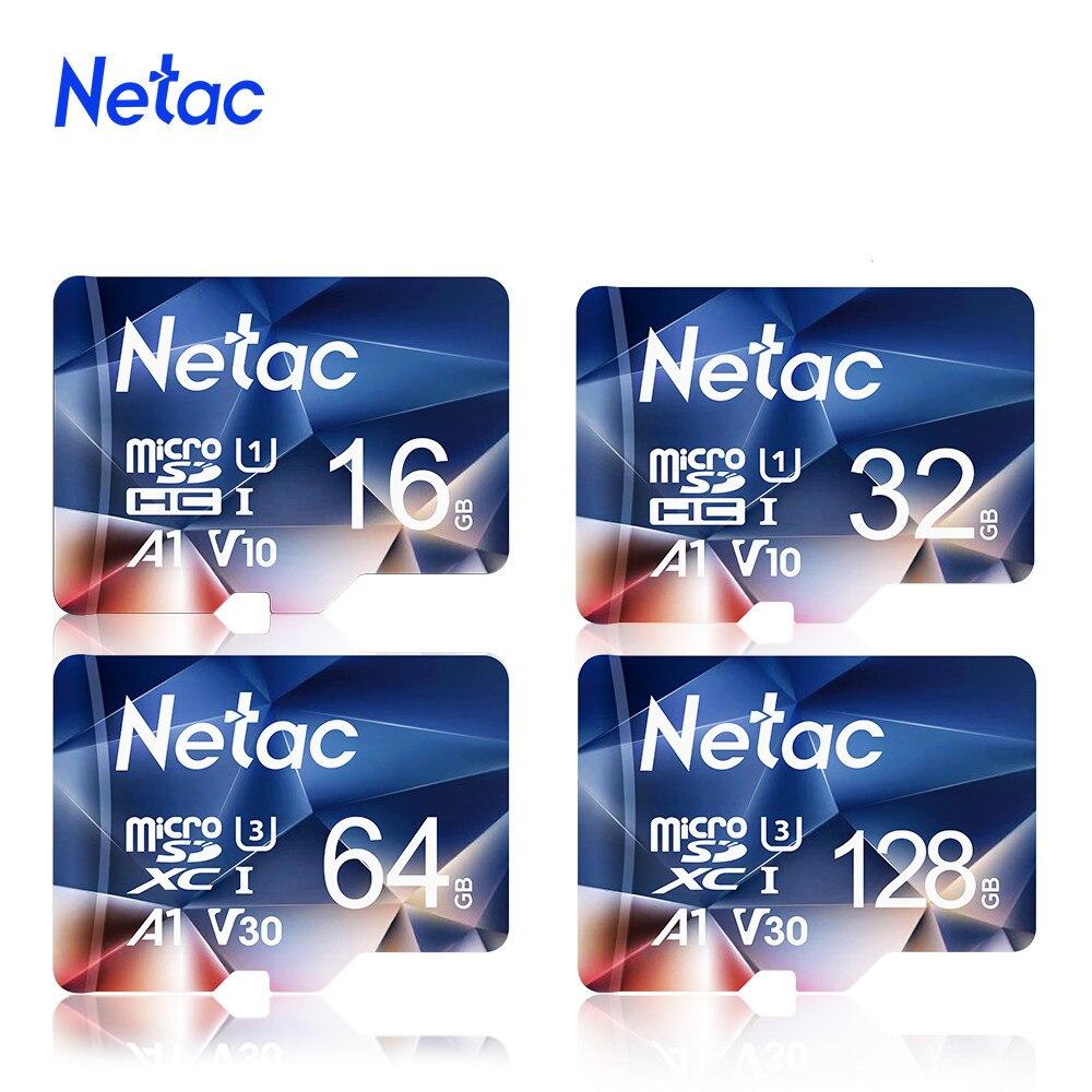 Netac Memory Card micro sd 128GB 32GB 16GB 100MB/S 64GB Micro SD Card адаптер sd Flash Card SD Card Hot Sale P500 2