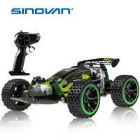 Sinovan RC Car 20 km/h, máquina de Control de Radio de alta velocidad, Control remoto, coche de juguete para niños, RC Drift wltoys