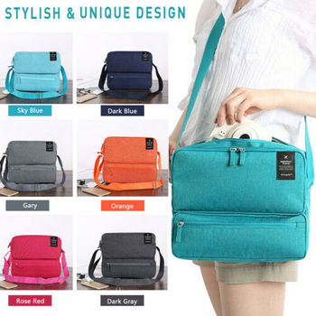 New Fashion Men Women Messenger Satchel Briefcase Work College School Utility Shoulder Bag