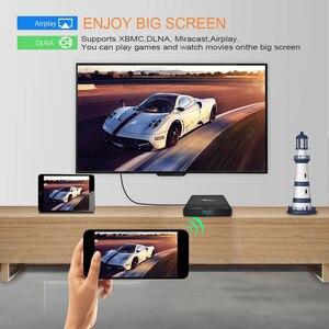 Image 5 - 5 шт./лот X96 Air Amlogic S905X3 Android 9,0 ТВ бокс 4 ГБ 32 ГБ 64 Гб wifi 4K 8K 24fps X96Air медиаплеер Голосовое управление телеприставка