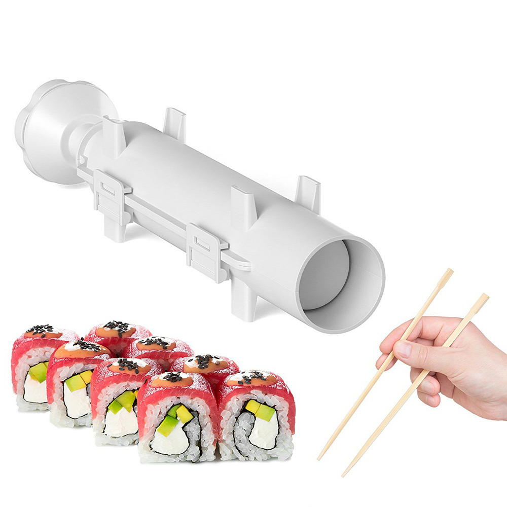 Dropshipping DIY Sushi Making Machine Kitchen Tools Roller Bazooka Rice Meat Vegetables Sushi Maker Roller Roll Mold image
