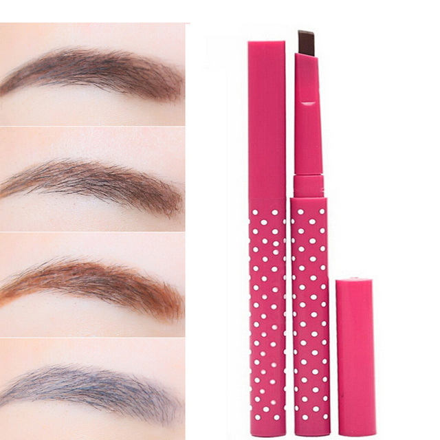 Waterproof Automatic Rotating Eyebrow Pencil Cosmetic Eye Brow Pencil Liner Pen