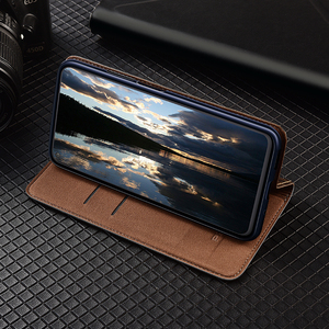 Image 4 - 360 Magnet Natural Genuine Leather Skin Flip Wallet Book Phone Case Cover On For Xiaomi Redmi 9 C 9C NFC Redmi9C 9CNFC 32/64 GB