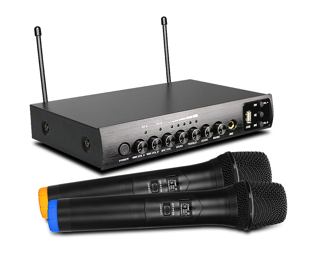 UHF Wireless Handheld Microphone S-16M with Dynamic Microphone for home theater system Hifi bass speaker bluetooth speaker