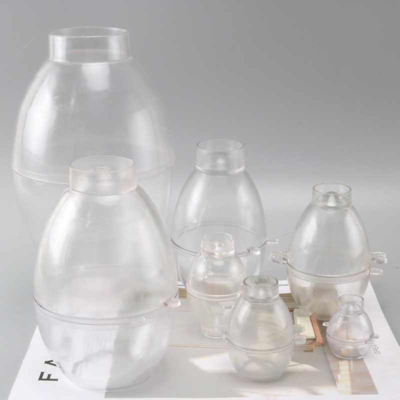 DIY Telur Bentuk Cokelat Lilin Cetakan Multi Ukuran Besar Kecil Sabun Cetakan Manual Cute Candle Membuat Cetakan Lz14