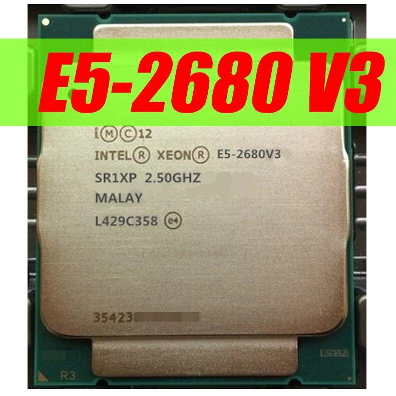 Core Processor 2.5GHz SR1XP 12 Intel Xeon E5-2680 V3 Dodeca