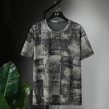 Été grande taille hommes coton t-shirts à manches courtes t-shirts 5XL 8XL 9XL 10XL 11XL homme basique solide t-shirt surdimensionné 60 62 64 66 150KG