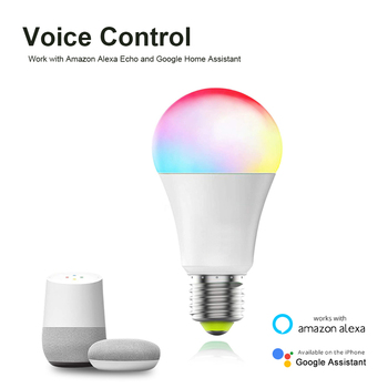 AVATTO Tuya 12W 15W WiFi Smart Light Bulb, E27 RGB LED Lamp Dimmable with Smart Life APP, Voice Control for Google Home, Alexa 2