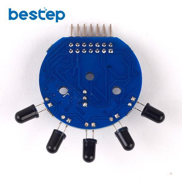 5 manier Flame Sensor Module 5 Road Digitale Analoge Signaal Dual Output Fire Detection Sensor Module voor arduino DIY Kit