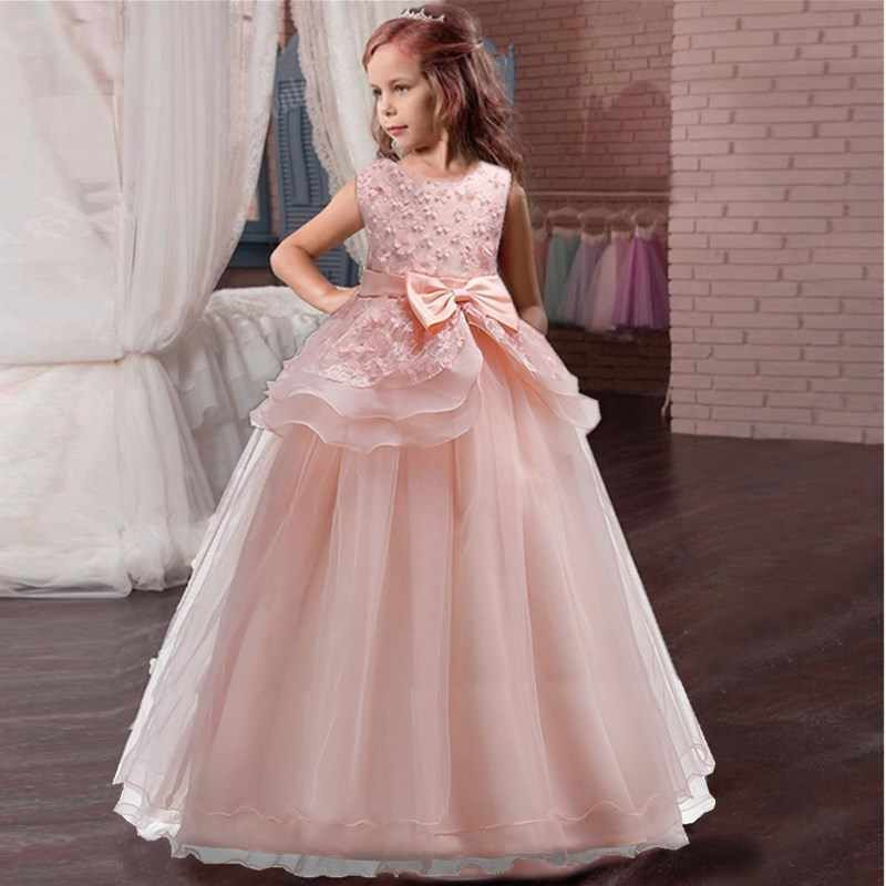 Petals Girls Kids Pageant Party Wedding Bridesmaid Communion Flower Girl Dress