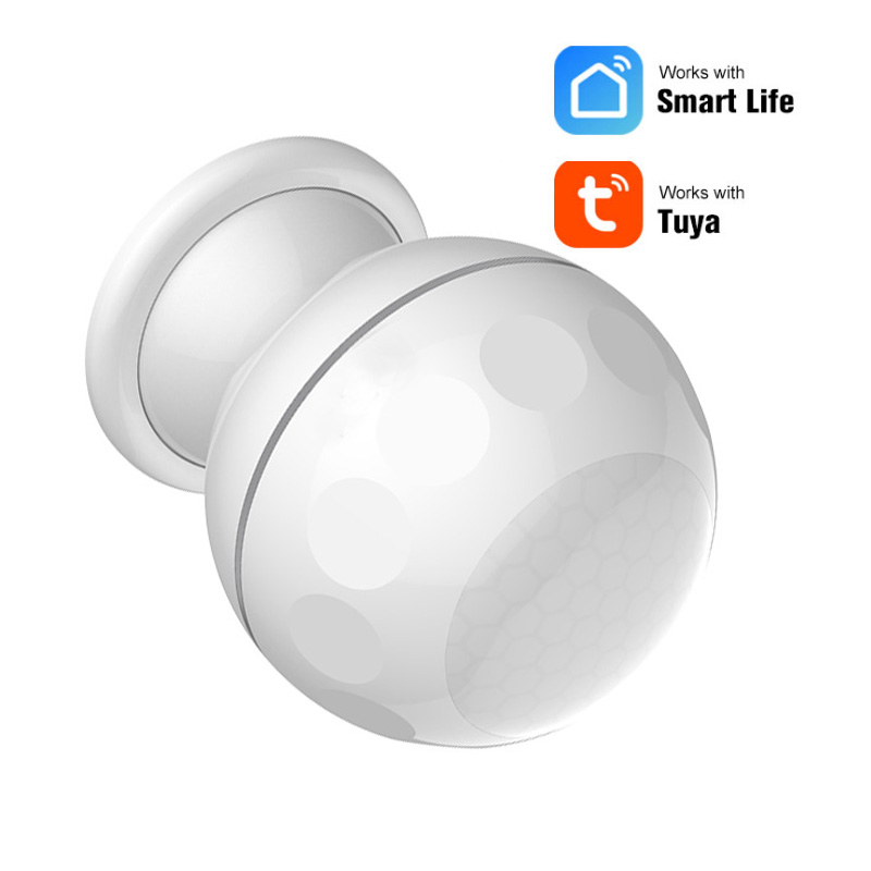 WiFi PIR Motion Sensor Alarm Detector For Wireless WiFi Smart Home Automation Via App Notification Alerts