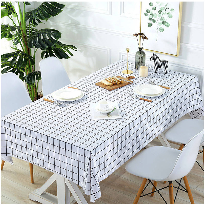 PVC Waterproof Tablecloth Table Cloth Rectangular Plastic Dining Table Desk Cover home decoracion room decor aesthetic manteles|Tablecloths|   - AliExpress