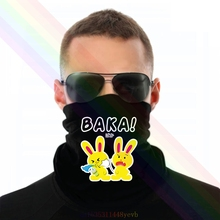 Scarf-Bandana Headband Rabbit One Neck-Warmer Slap Anime Funny Tooth Baka Novelty Japanese