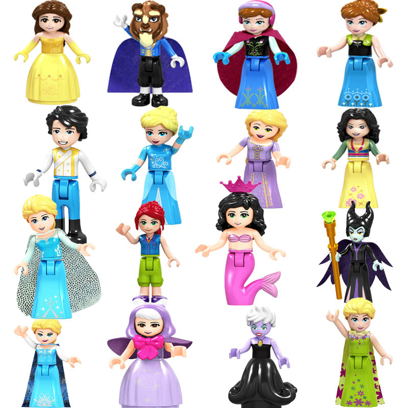 2019 Legoing Friends Figure Girls Princess Olivia Mia Kate Stephanie Aisha Anna Emma Andrea Building Blocks Toys For Children