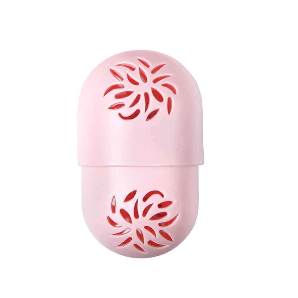 Hollowed Out Makeup Sponge Holder Soft Silicone Puff Storage Flexible Drying Capsule Shaped Portable Case Box Container Cosmetic