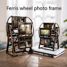Creative home decoration northern Europe indoor Ferris wheel ornament home furnishing living room ornament photo frame ornament