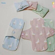 2 шт./лот многоразовые женские гигиенические прокладки 160 мм моющиеся мягкие менструальные прокладки подкладки для трусиков Женская гигиен...
