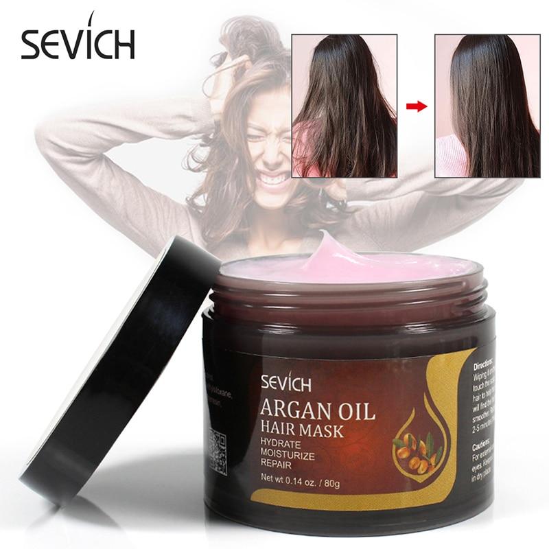 Маска для лечения волос Sevich восстанавливает повреждения и восстанавливает мягкие волосы 80 г для всех типов волос, лечение кератиновых воло...