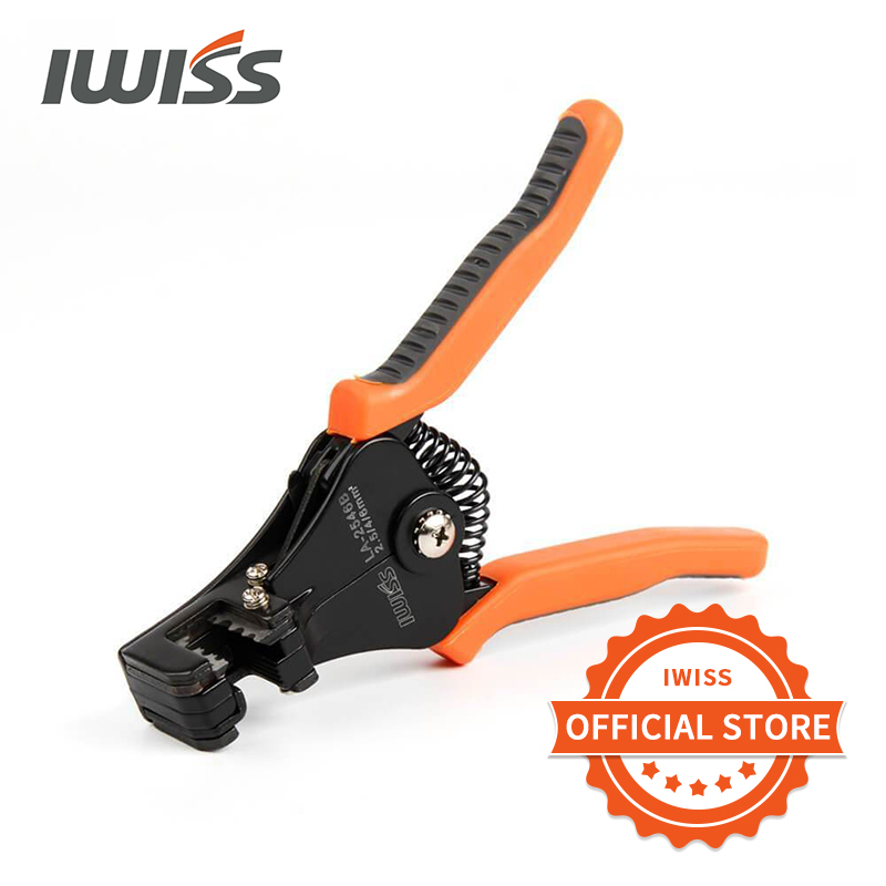 IWISS LA-2546B Solar Cable Stripper Wire Stripper For Stripping 2.5/4/6MM2 Solar Cable