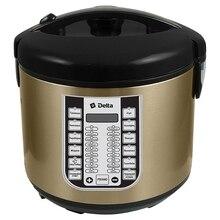 Мультиварка Delta DL-6518, 28 программы, 900 Вт, 5 л+ книга рецептов