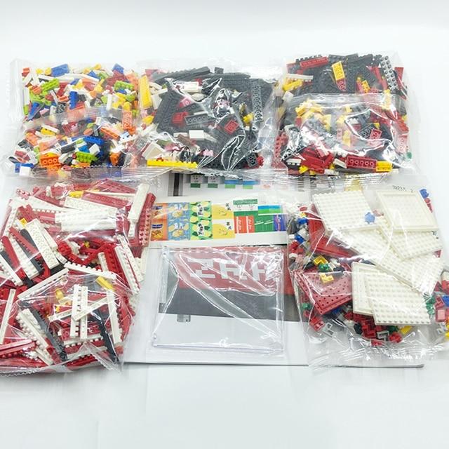 ZRK-Mini máquina expendedora popular para niños, bloques de construcción, ciudad ladrillos, accesorios, bebida, bolsa para comida, juegos, Juguetes DIY