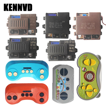 J2YB-7P-6V J2W-2P-6V12V R9AA-2G4 J4VZ-3P controller for childrens electric car, kids remote control car receiver and