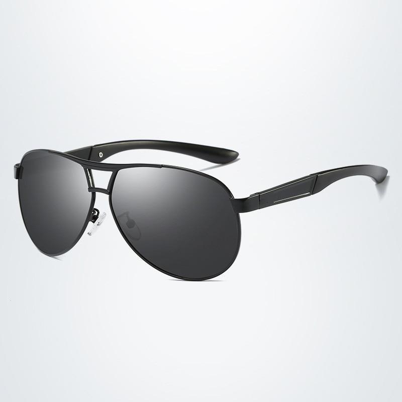Óculos de sol masculino polarizado, óculos de sol clássico masculino polarizado, vintage, estilo aviador uv400