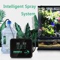 Система разбрызгивателя с сенсорным экраном, умная цилиндрическая система для разбрызгивания с тропическим дождевым лесом