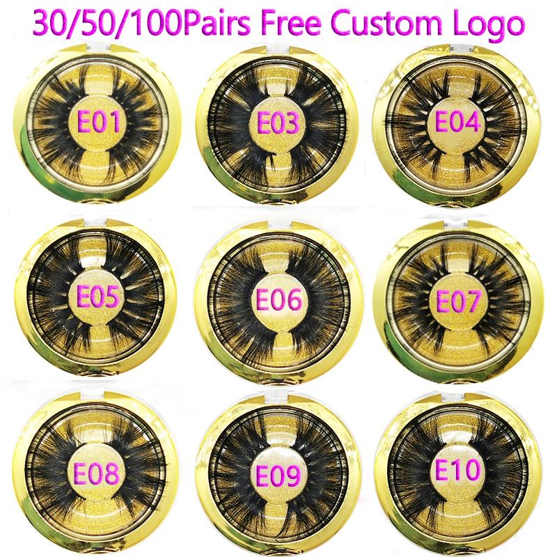 Deal\25mm Lashes Momo Free-Custom-Logo Cruelty-Free Handmade Vip 30/50/100-pairs╕