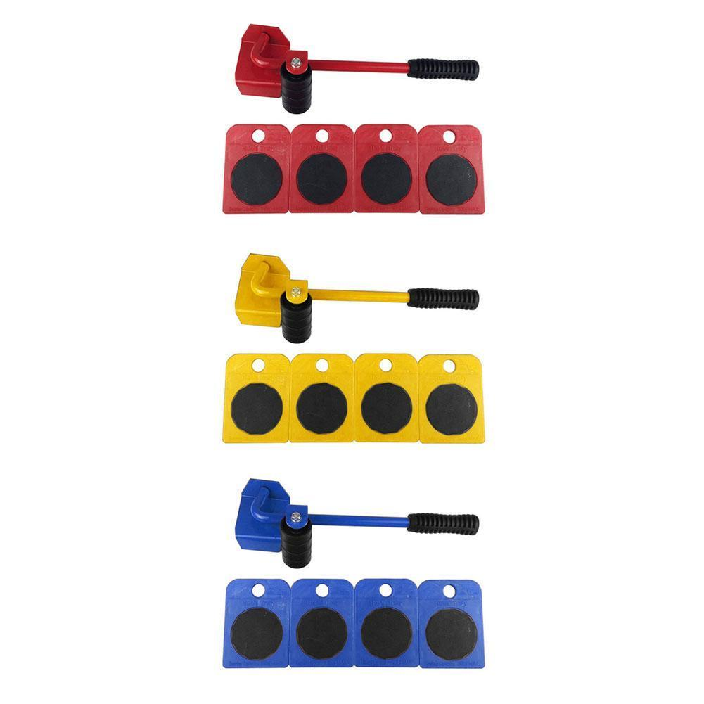 Furniture Transport Roller Set Removal Lifting Moving Heavy Move Dropship House Blue Handling Tool Accessories W1R1