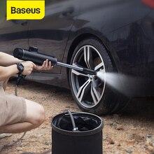 Baseus 전기 자동차 세탁기 총 자동 청소 관리를위한 고압 청소기 거품 노즐 무선 Protable 세차 스프레이