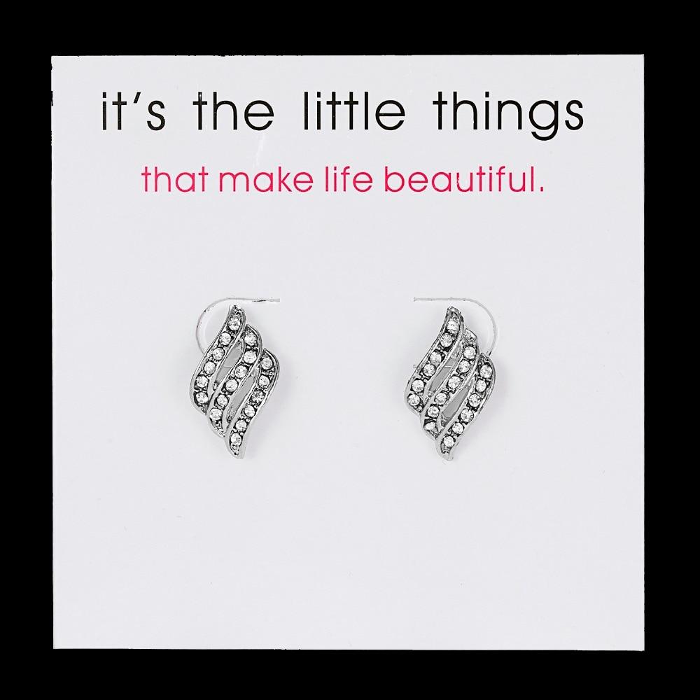 12 Pairs/set Stud Earrings Set With Card Transparent Zircon Balls Love Flowers Earrings Women Imulated Pearl Earrings Jewelry 113