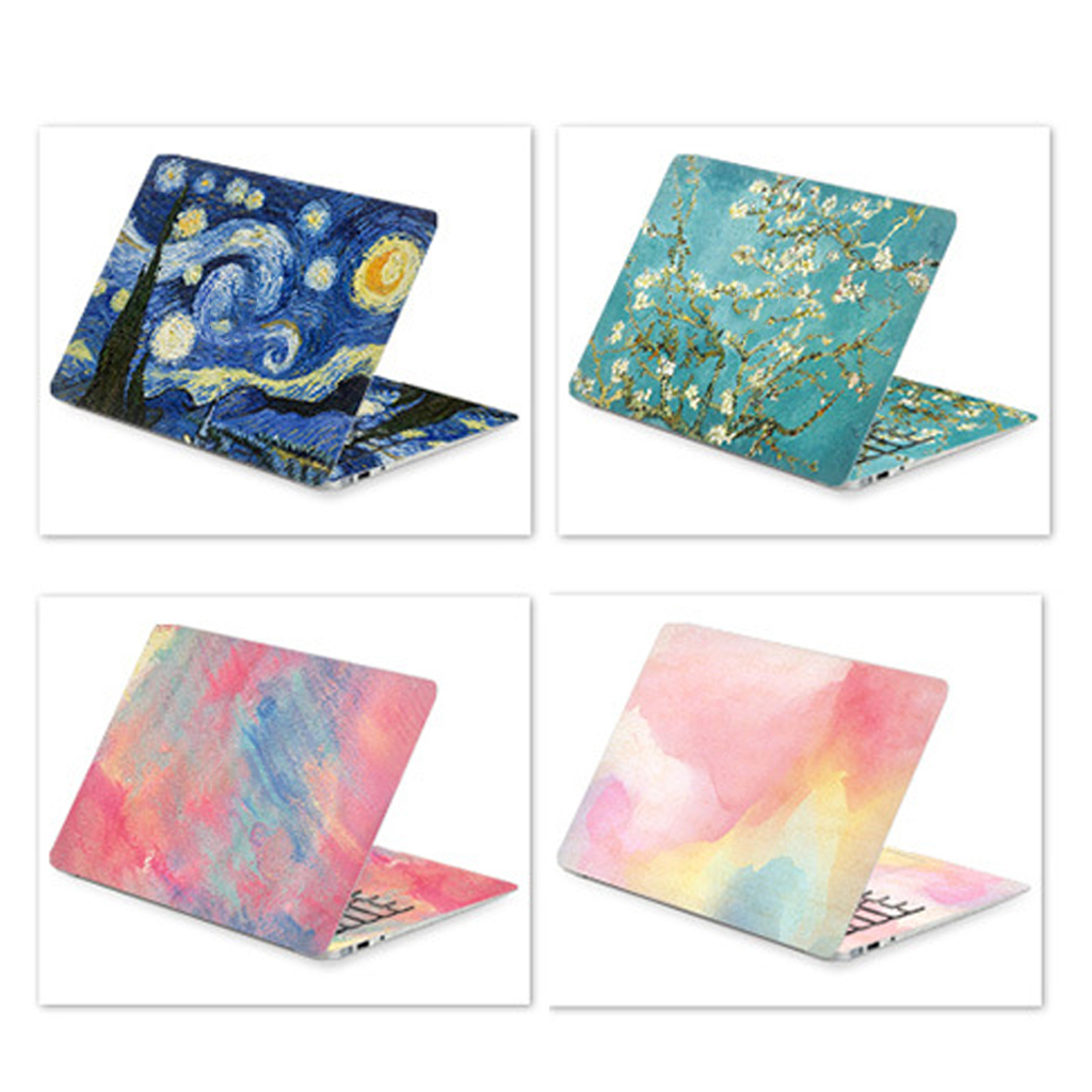 100% Brand New and High Quality DIY Laptop Sticker Laptop Skin for HP/ Acer/ Dell /ASUS/ Sony/Xiaomi/macbook air