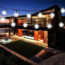 Fairy Solar Power 30 LED Bulb Stringed Light Lamp Home Garden Wedding Party Decor
