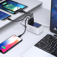 USB and Type-C Charger with Display